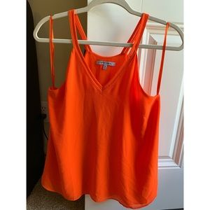 Medium orange tank top